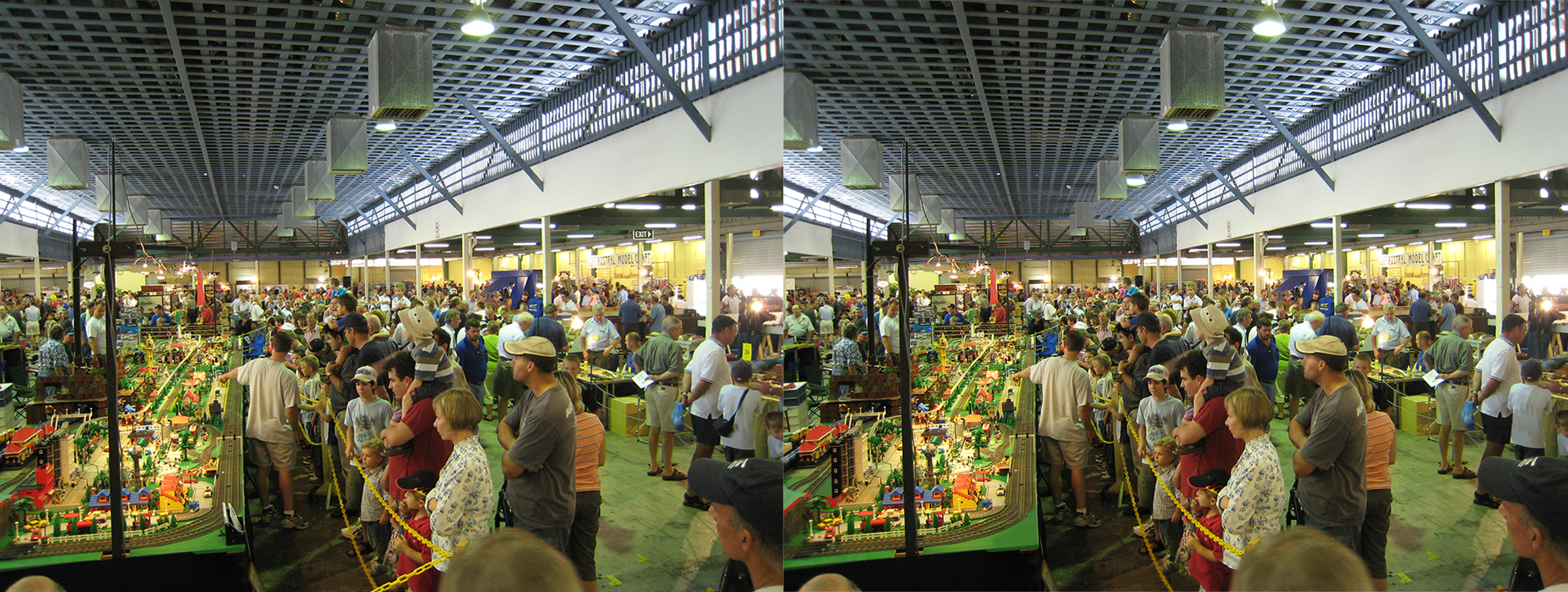 spot the difference at model train show