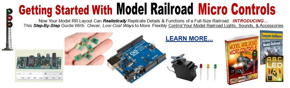 arduino model trains